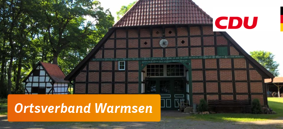 CDU Ortsverband Warmsen